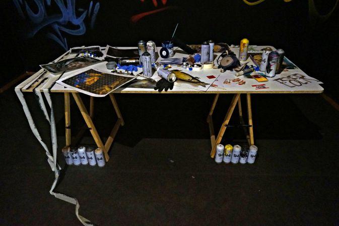 Exposición: Del carbón al grafiti