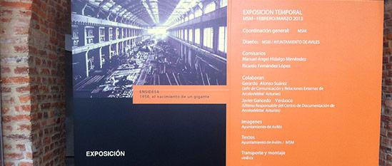 Exposición: Ensidesa