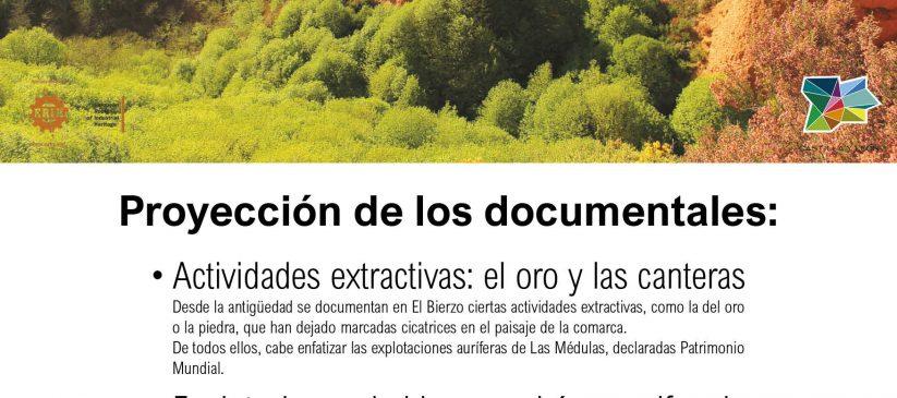 Proyección de los documentales: Paisajes Industriales en la Comarca de el Bierzo