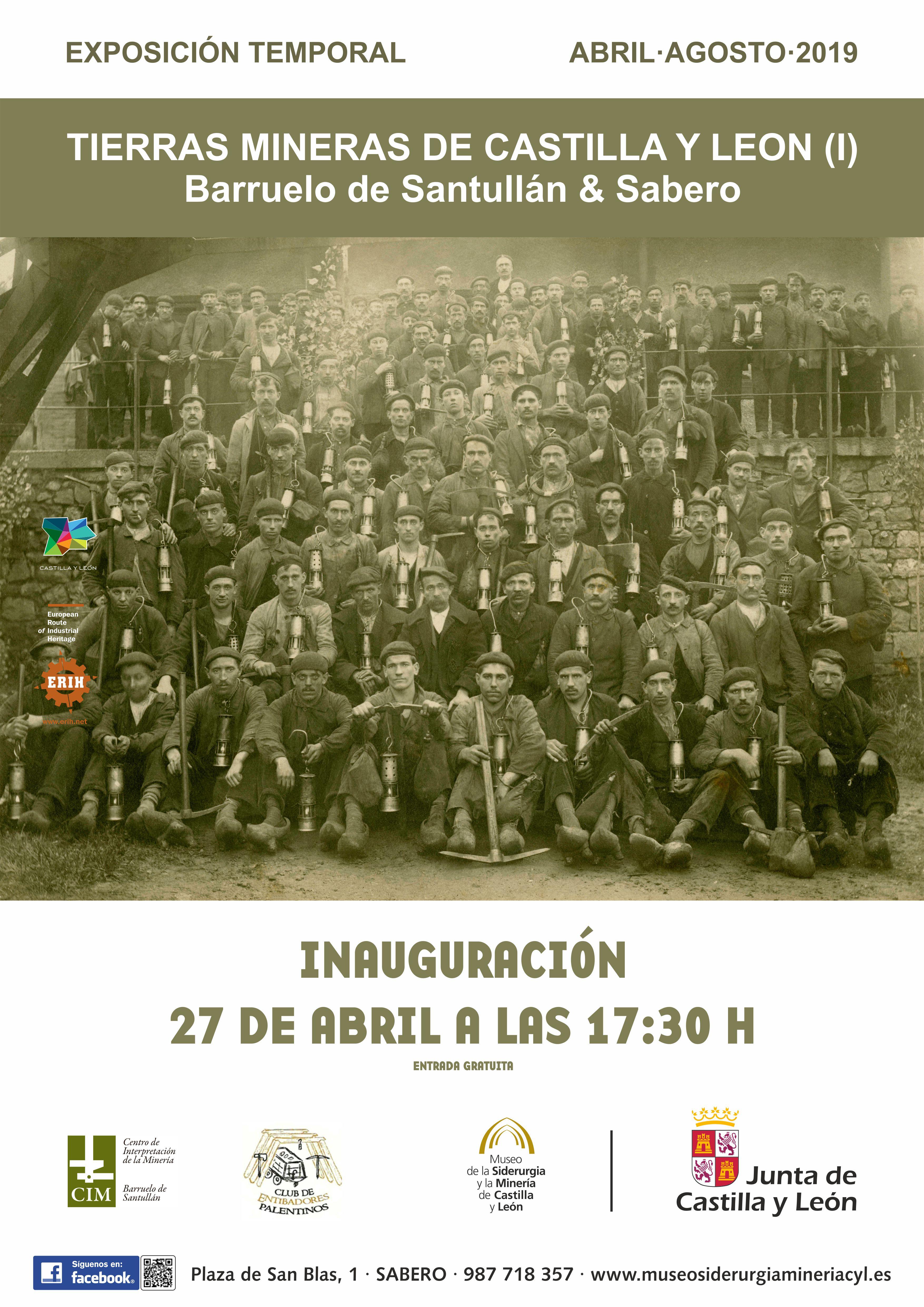 """EXPOSICIÓN TEMPORAL: """"TIERRAS MINERAS DE CASTILLA Y LEÓN (I)"""""""