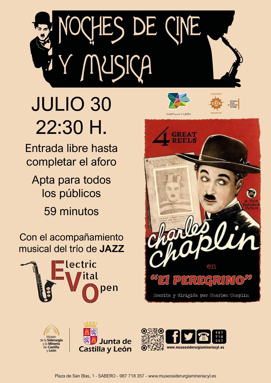 NOCHES DE CINE Y MÚSICA: CHARLES CHAPLIN Y TRIO DE JAZZ EVO