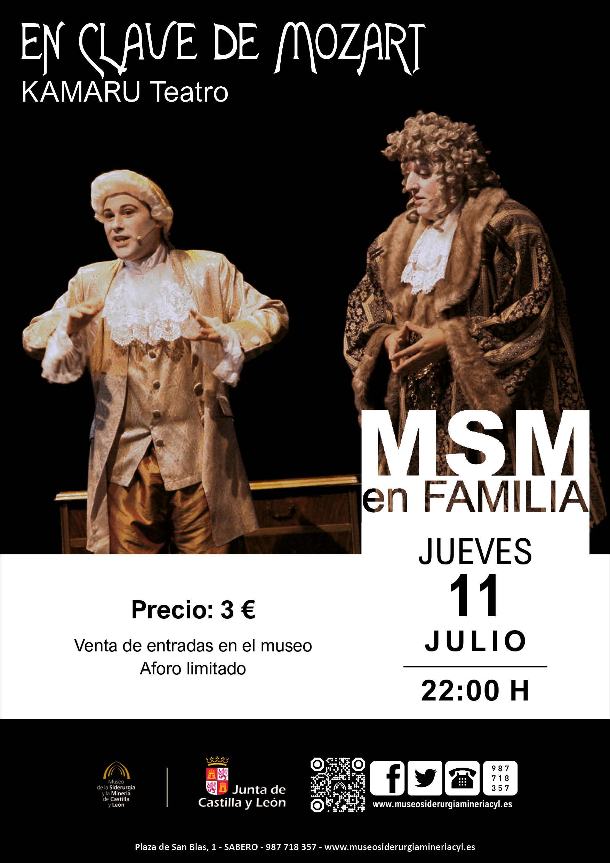 """MSM EN FAMILIA: """"EN CLAVE DE MOZART"""""""