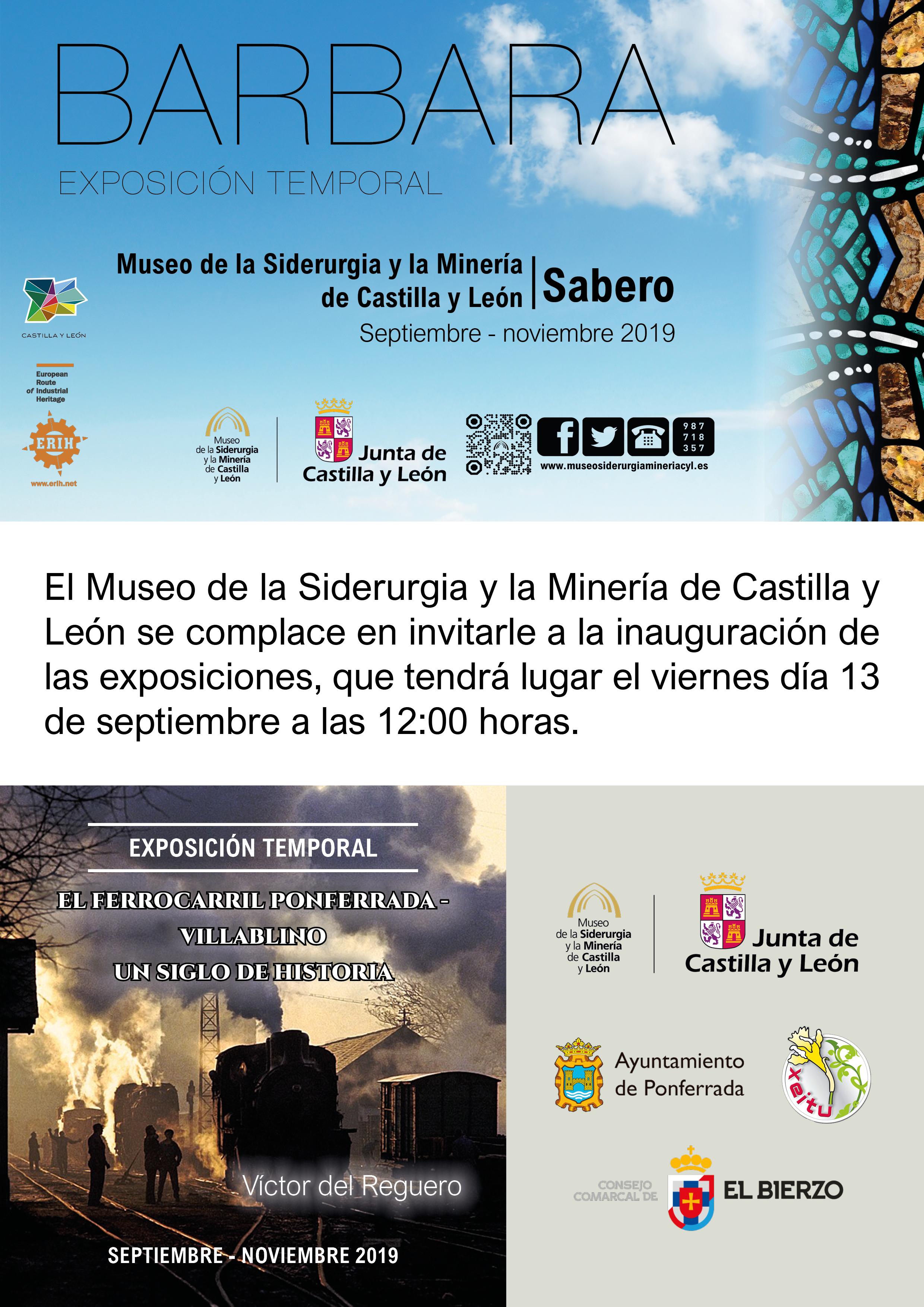 INAUGURACIÓN DE EXPOSICIONES TEMPORALES