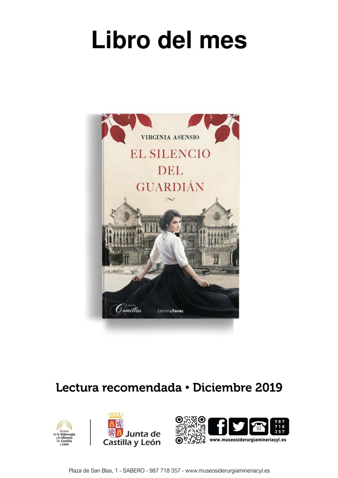 LIBRO DEL MES: EL SILENCIO DEL GUARDIÁN. EJEMPLAR PRESTADO POR EL MUSEO.