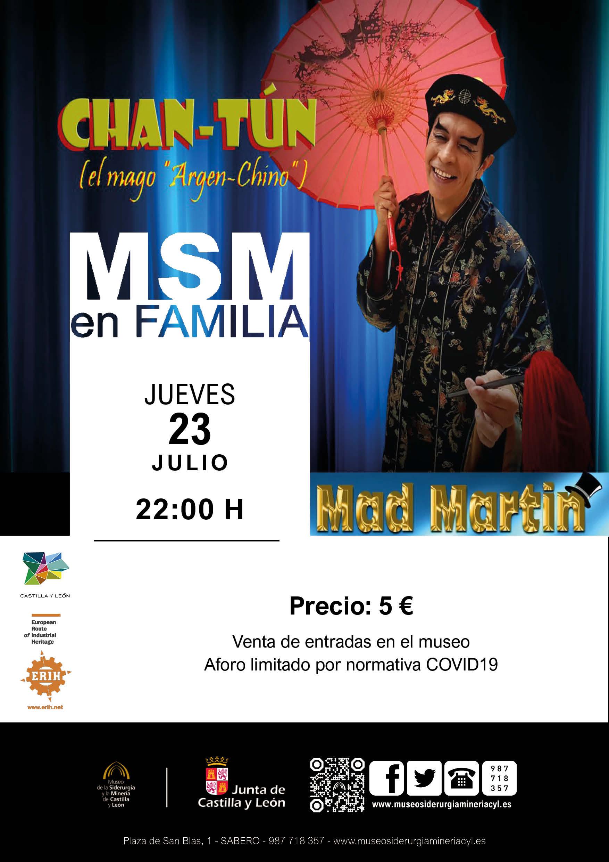 """MSM EN FAMILIA: """"CHAN-TÚN (EL MAGO ARGEN - CHINO)"""""""