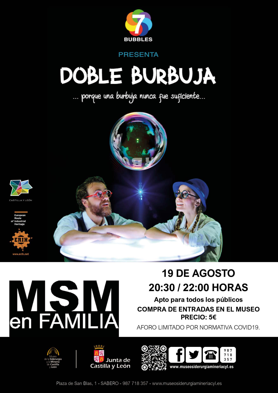 """MSM EN FAMILIA: """"DOBLE BURBUJA""""."""