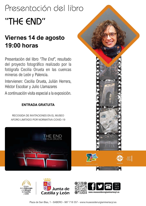 """PRESENTACIÓN DEL LIBRO """"THE END""""+ VISITA ESPECIAL A LA EXPOSICIÓN TEMPORAL"""