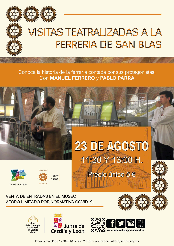 VISITAS TEATRALIZADAS A LA FERRERÍA DE SAN BLAS.