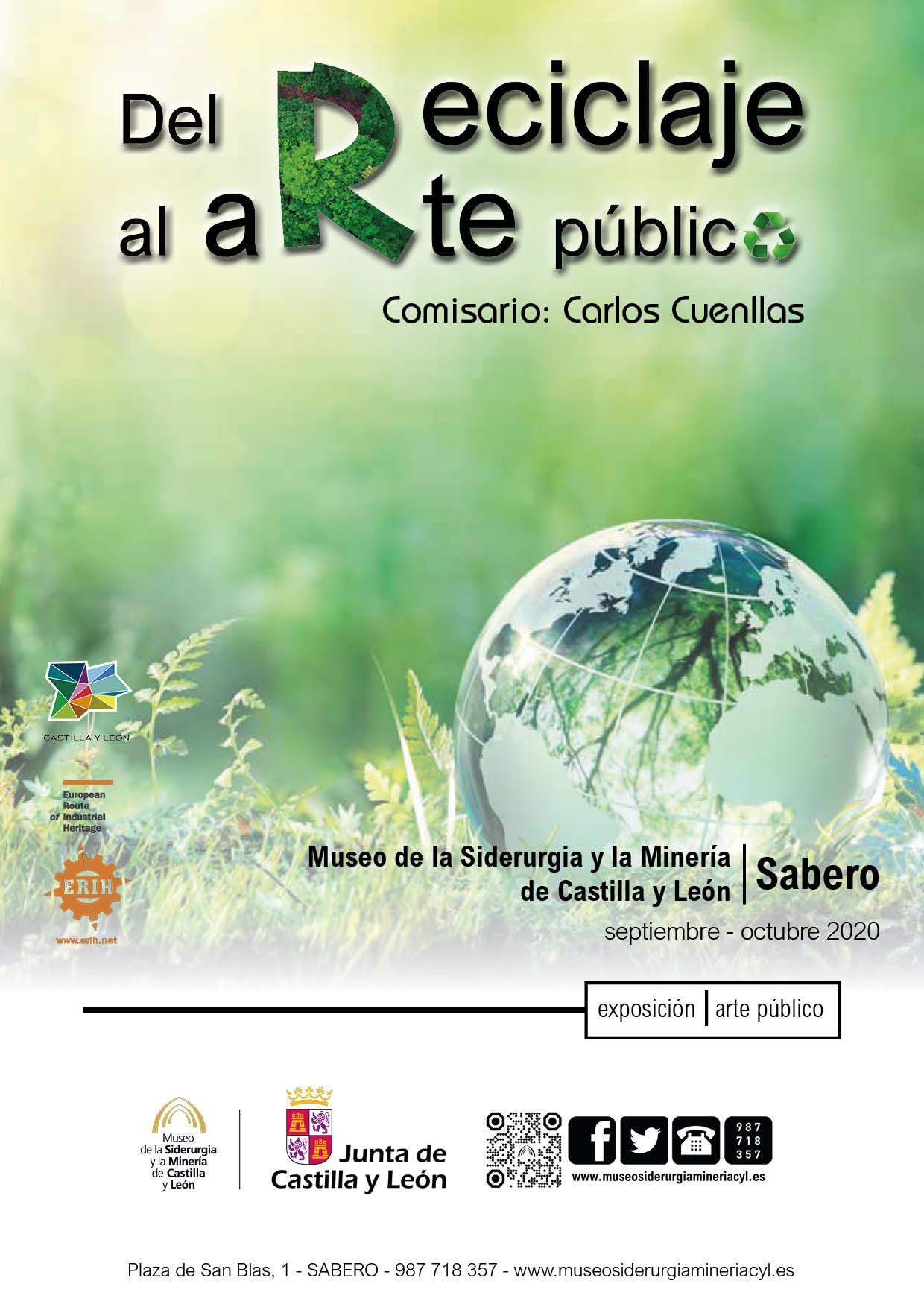 """EXPOSICIÓN TEMPORAL: """"DEL RECICLAJE AL ARTE PÚBLICO""""."""