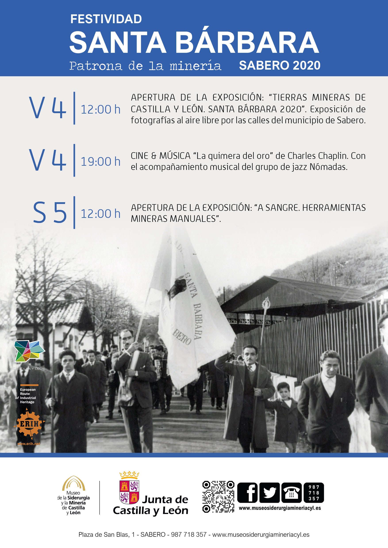 FESTIVIDAD SANTA BÁRBARA, PATRONA DE LA MINERÍA