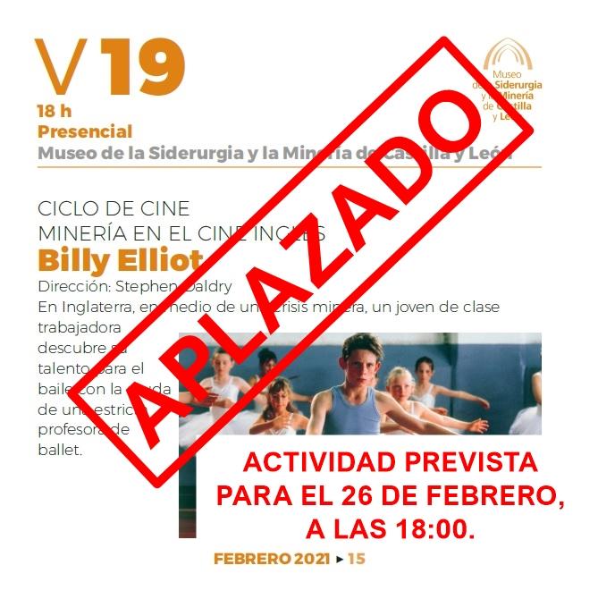 Ciclo de cine La minería en el cine ingles - febrero - aplazado