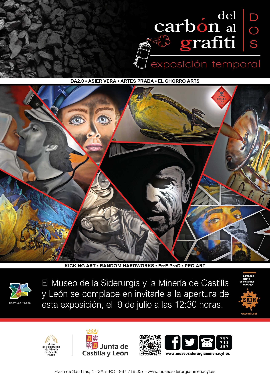 """INAUGURACIÓN EXPOSICIÓN TEMPORAL: """"DEL CARBÓN AL GRAFITI II"""""""