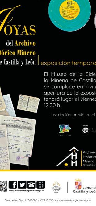 EXPOSICIÓN TEMPORAL: JOYAS DEL ARCHIVO HISTÓRICO MINERO DE CASTILLA Y LEÓN